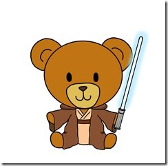 A Jedi Teddy